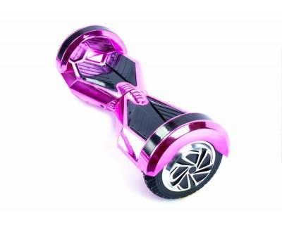 Гироскутер Smart Transformer розовый хром