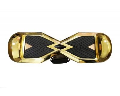 Гироскутер Smart Transformer золотой Хром