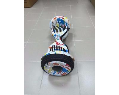 Гироскутер Smart Balance 10.5 дюймов спорт Граффити белый спортивный