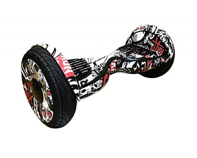 Гироскутер Smart Balance 10.5 дюймов спорт Граффити Черный спортивный