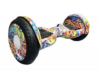 Гироскутер Smart Balance 10.5 дюймов спорт Граффити красный спортивный