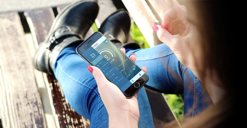 Airwheel Z3  подключение смартфона