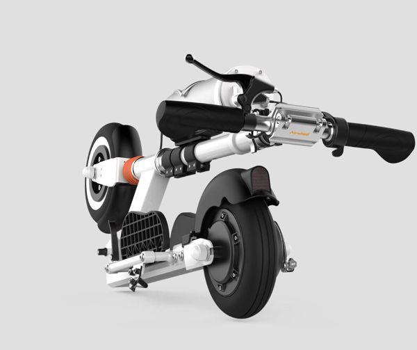 Airwheel Z3  складывание